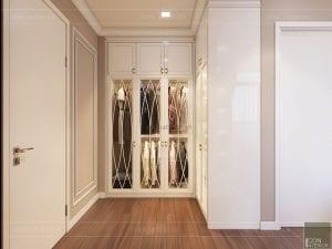tư vấn thiết kế nội thất căn hộ - phòng ngủ master