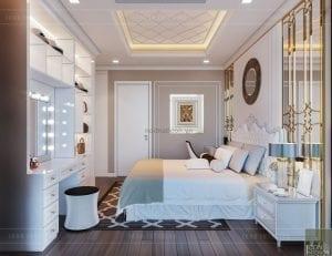 tư vấn thiết kế nội thất căn hộ - phòng ngủ nhỏ