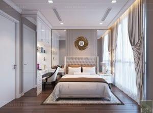 tư vấn thiết kế nội thất căn hộ phòng ngủ 1
