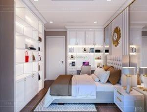 tư vấn thiết kế nội thất căn hộ - phòng ngủ 1