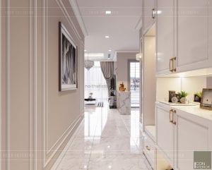 tư vấn thiết kế nội thất căn hộ tiền sảnh