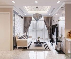 tư vấn thiết kế nội thất căn hộ phòng khách