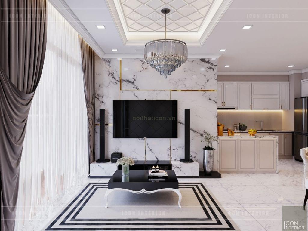 tư vấn thiết kế nội thất căn hộ - phòng khách