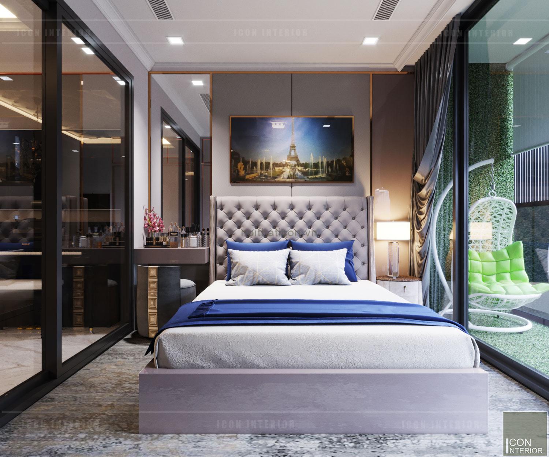 thiết kế phòng ngủ căn hộ nhỏ landmark 81
