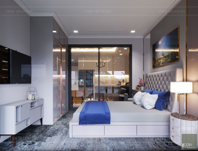 thiết kế căn hộ mini 50m2 landmark 81