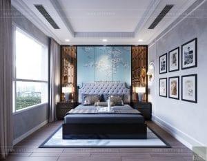 thiết kế nội thất park hill - phòng master