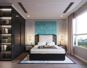 thiết kế nội thất park hill - phòng ngủ nhỏ