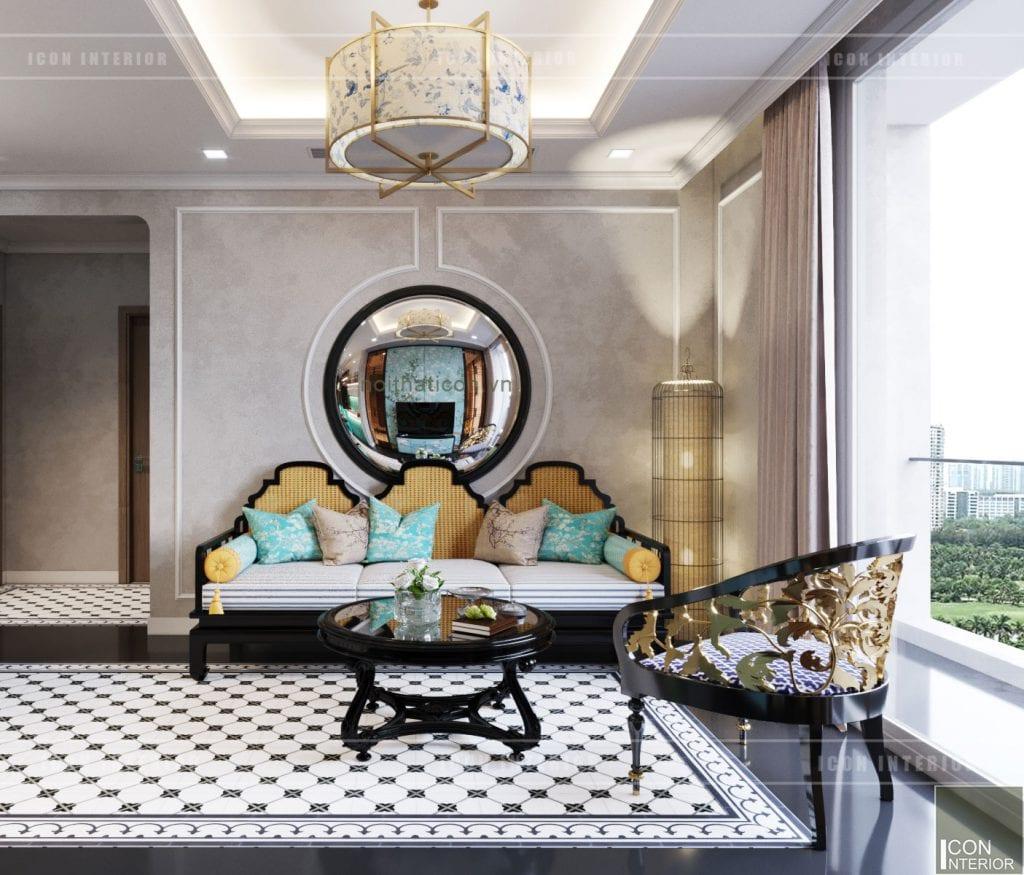 thiết kế nội thất park hill - nội thất phòng khách