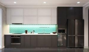 thiết kế nội thất park hill nhà bếp