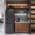 thiết kế nội thất văn phòng cao cấp - nhà bếp
