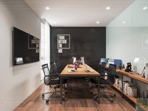 thiết kế nội thất văn phòng cao cấp - phòng ban