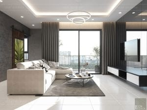 thiết kế nội thất masteri millennium