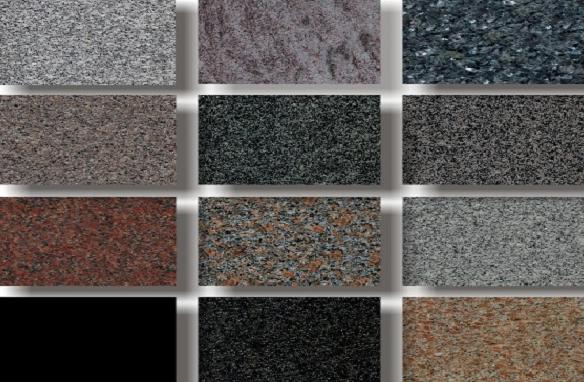 các loại đá dùng trong nội thất - đá granite