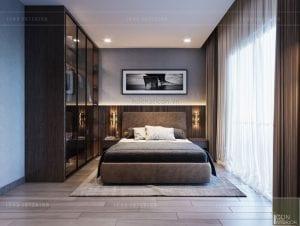 mẫu thiết kế biệt thự 2 tầng hiện đại - phòng ngủ 2