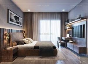 mẫu thiết kế biệt thự 2 tầng hiện đại phòng ngủ 2