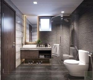 mẫu thiết kế biệt thự 2 tầng hiện đại - phòng vệ sinh