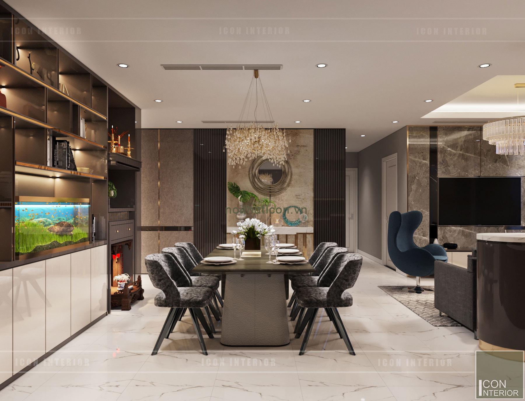 thiết kế căn hộ Landmark 6 Vinhomes Central Park