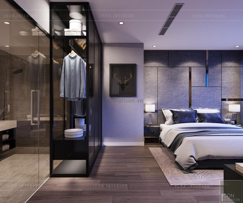 thiết kế căn hộLandmark 6 Vinhomes Central Park - tủ quần áo