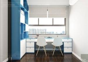 thiết kế căn hộ wilton novaland - phòng trẻ em