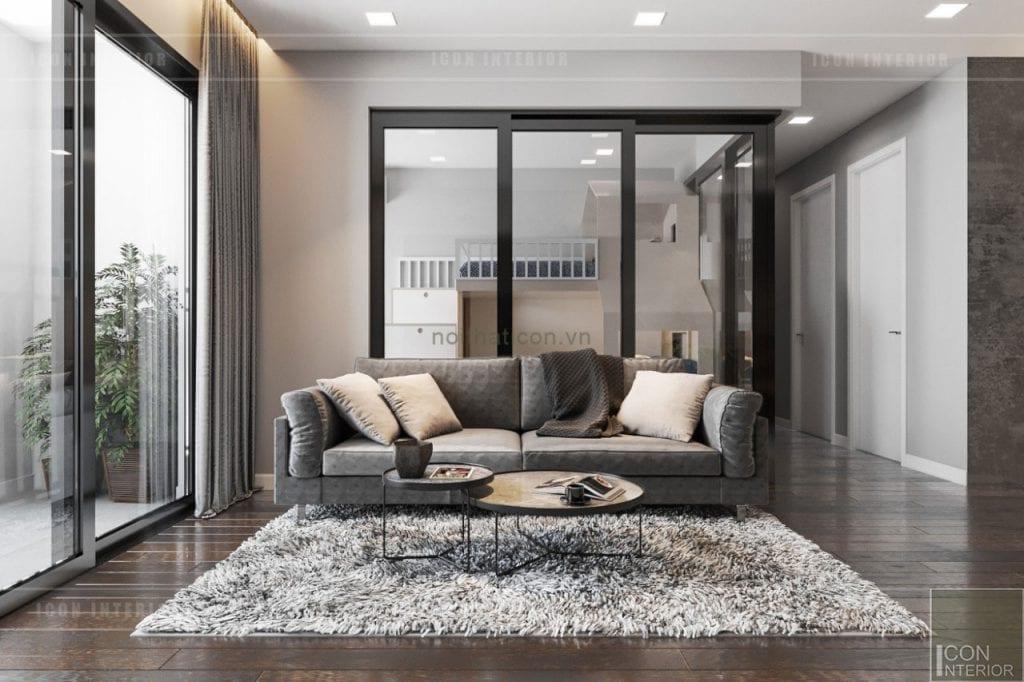 thiết kế căn hộ wilton novaland