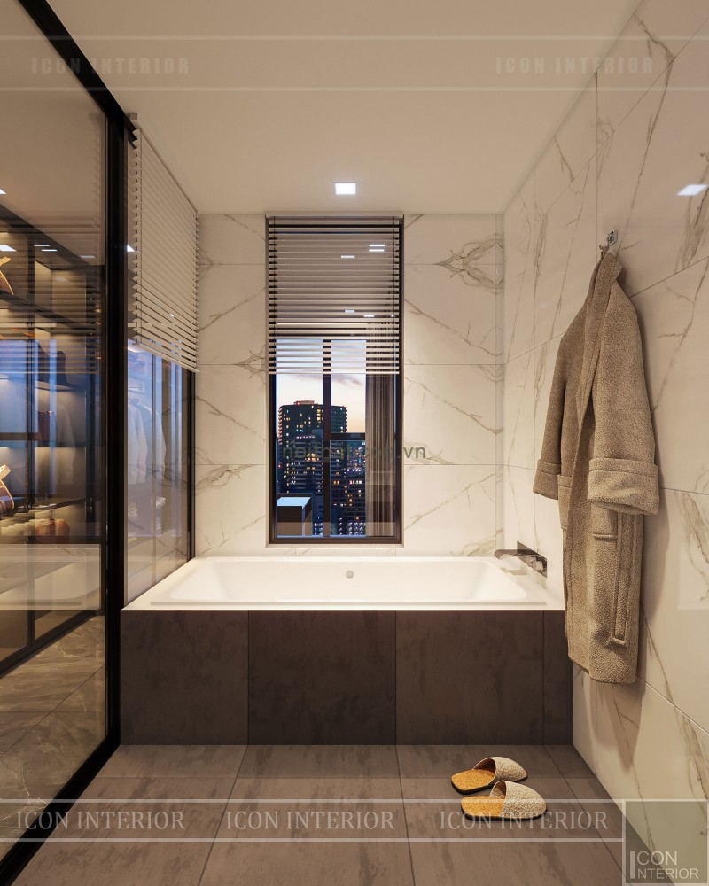 thiết kế phòng tắm luxury 6 vinhomes golden river