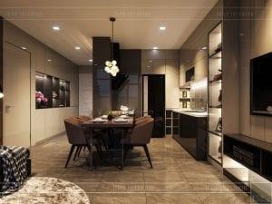 thiết kế phòng ăn luxury 6 vinhomes golden river