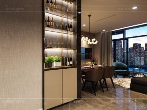 thiết kế căn hộ luxury 6 vinhomes golden river