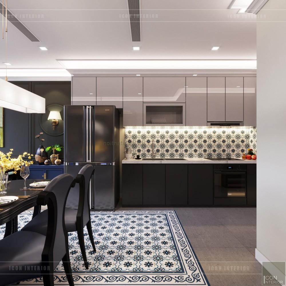 nội thất phong cách đông dương - nhà bếp