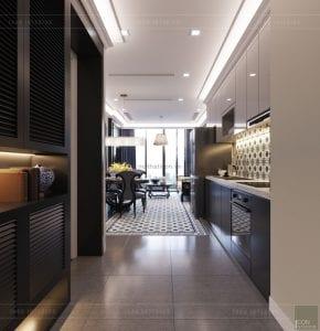 thiết kế nội thất phong cách đông dương - tiền sảnh