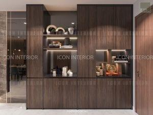 thiết kế nội thất park 5 vinhomes central park tiền sảnh