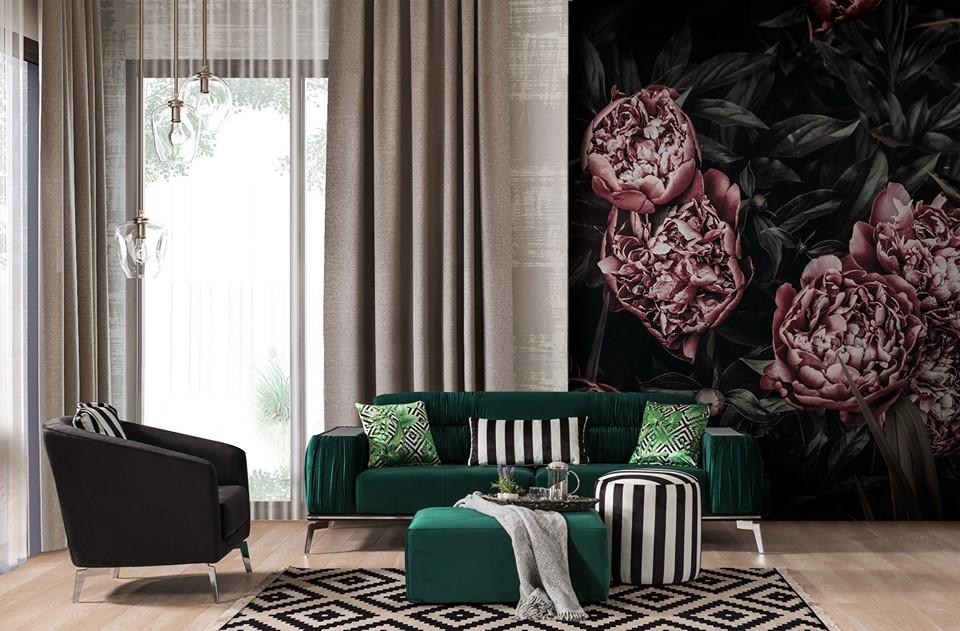 phong cách thiết kế nội thất Bazaar