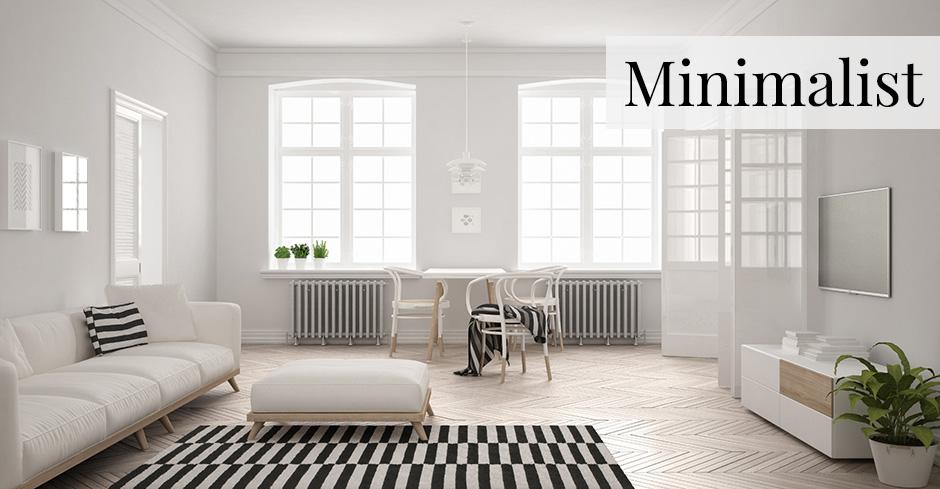 Phong cách thiết kế nội thất Tối giản - ảnh 1