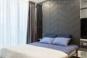 thi công nội thất vinhomes ba son - phòng ngủ master