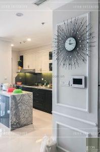 thi công nội thất vinhomes - nhà bếp