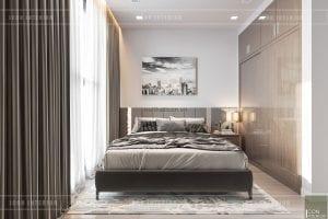 thiết kế nội thất chung cư 3 phòng ngủ - phòng ngủ nhỏ 1