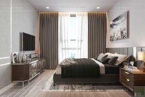 thiết kế nội thất chung cư 3 phòng ngủ phòng ngủ nhỏ 1