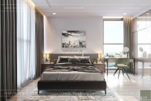 thiết kế nội thất chung cư 3 phòng ngủ - phòng ngủ nhỏ 2