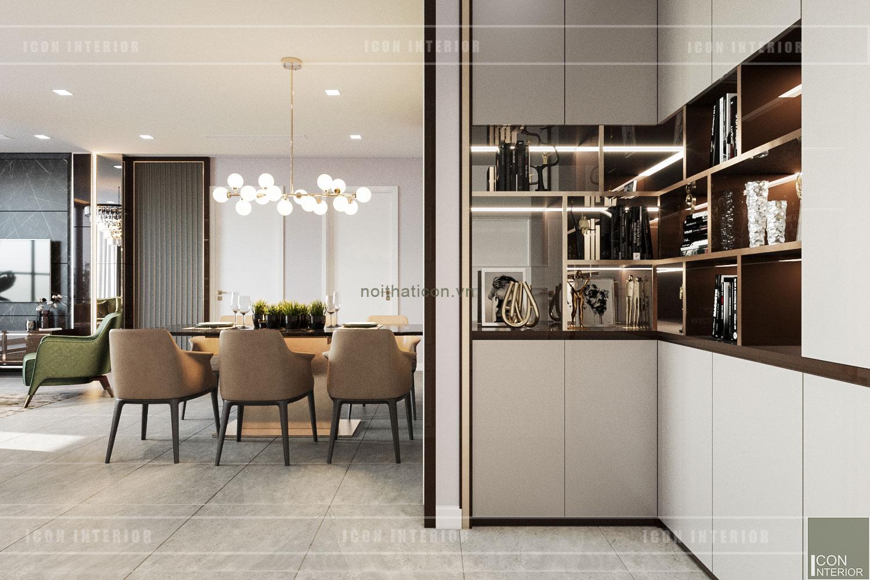 thiết kế nội thất chung cư 3 phòng ngủ - tiền sảnh
