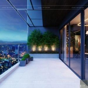 Thiết kế nội thất căn hộ 90m2 Masteri Millennium