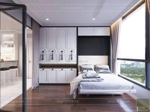 landmark 2 vinhomes central park - giường thông minh