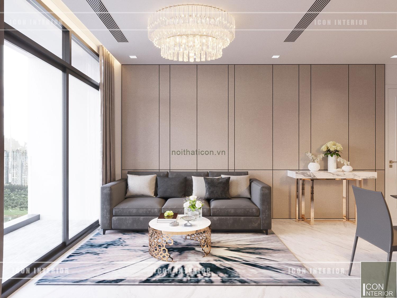 thiết kế căn hộ 1 phòng ngủ 4