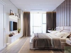 thiết kế căn hộ 1 phòng ngủ 6