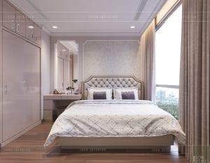 thiết kế căn hộ 2 phòng ngủ park 6 - phòng ngủ 2