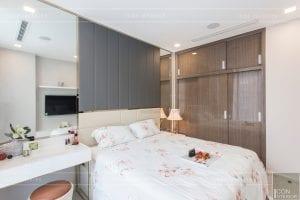 thi công căn hộ 1 phòng ngủ hiện đại