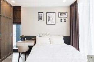 thi công nội thất hiện đại - phòng ngủ 2