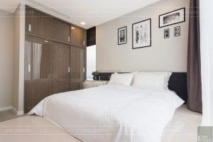 thi công nội thất hiện đại - phòng ngủ 3