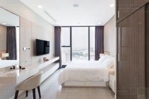 thi công nội thất hiện đại - phòng ngủ master 3