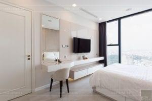 thi công nội thất hiện đại - phòng ngủ master 4
