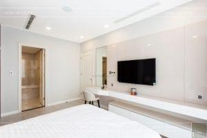 thi công nội thất hiện đại - phòng ngủ master 6