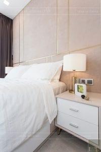 thi công nội thất hiện đại - phòng ngủ master 2